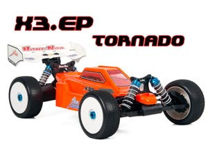HongNor Buggy 1/8 X3-Tornado Brushless 150A V.2