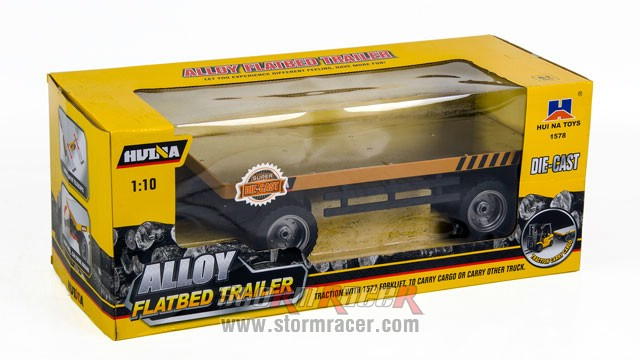 1/10 Alloy Flatbed Trailer 001