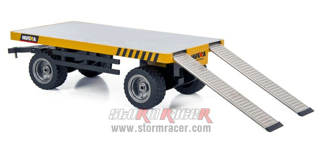 1/10 Alloy Flatbed Trailer 006