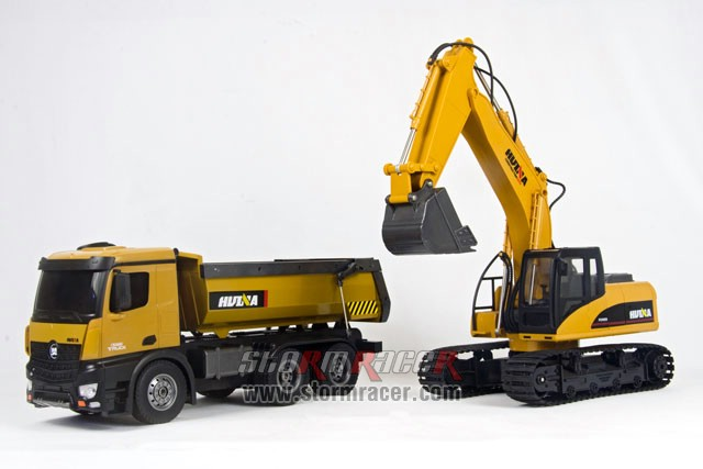 Combo Huina Benz + Excavator 005