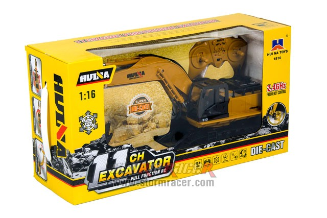 1/16 RC Excavator with 11CH Radio 001
