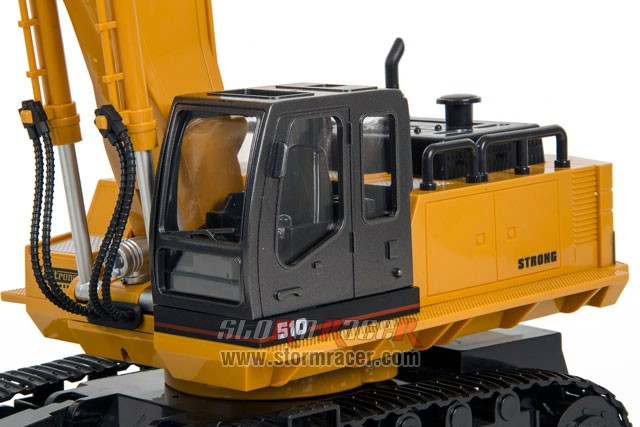 1/16 RC Excavator with 11CH Radio 016