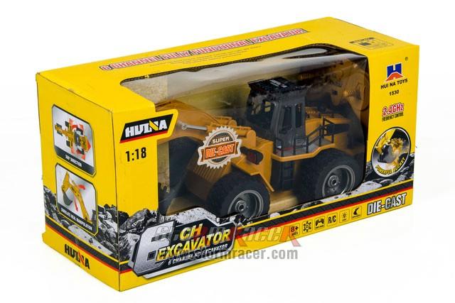 HuiNa Excavator 1/18 6CH 001