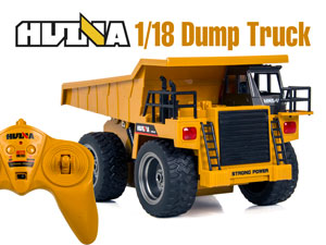1/18 RC Dump Truck with 6CH Radio (HuiNa#1540)