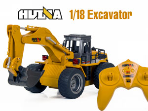 1/18 RC Excavator with 6CH Radio #1530