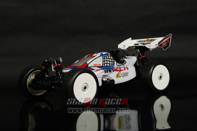 InTech BR-5 Nitro Buggy 1/8 004