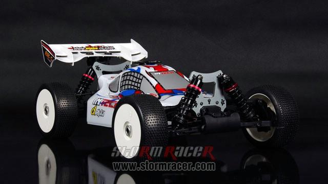 InTech BR-5 Nitro Buggy 1/8 005