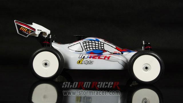 InTech BR-5 Nitro Buggy 1/8 009