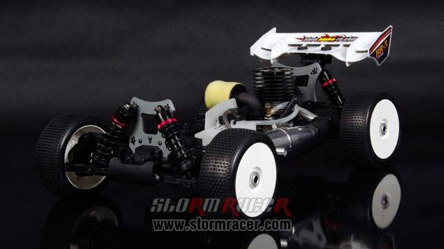 InTech BR-5 Nitro Buggy 1/8 018