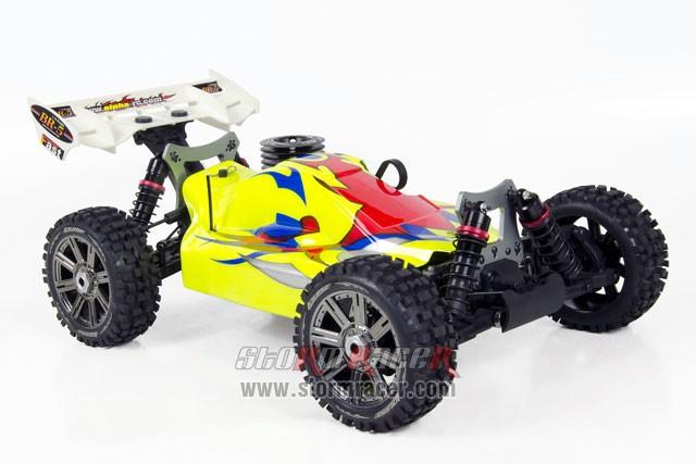 INTECH BR-5A28S Buggy 1/8 Nitro.28 (4.6cc) 001