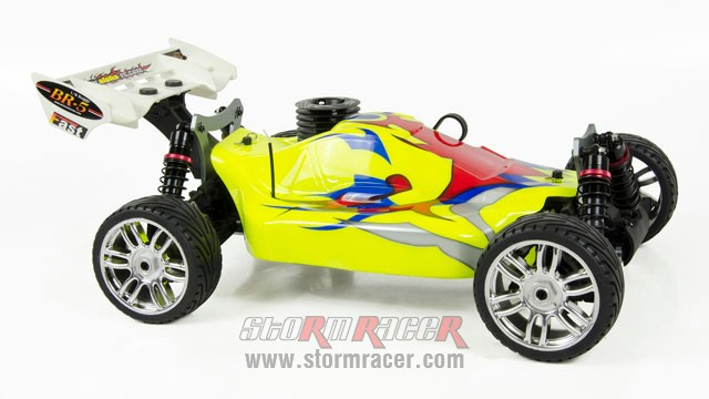 INTECH BR-5A28S Buggy 1/8 Nitro.28 (4.6cc) 002