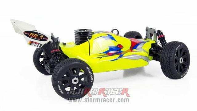 INTECH BR-5A28S Buggy 1/8 Nitro.28 (4.6cc) 003