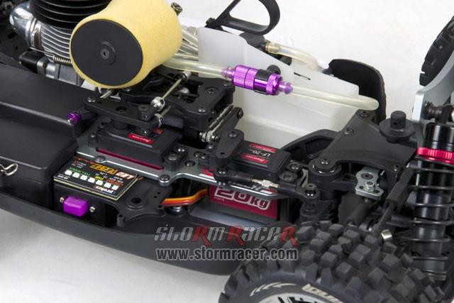 INTECH BR-5A28S Buggy 1/8 Nitro.28 (4.6cc) 009