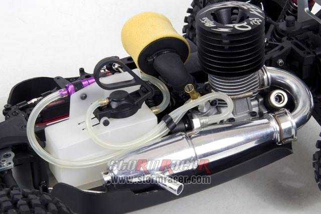 INTECH BR-5A28S Buggy 1/8 Nitro.28 (4.6cc) 010