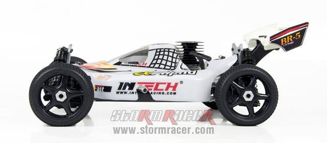 INTECH BR-5A28 Buggy 1/8 Nitro.28 (4.6cc) 004