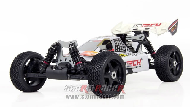 INTECH BR-5A28 Buggy 1/8 Nitro.28 (4.6cc) 005