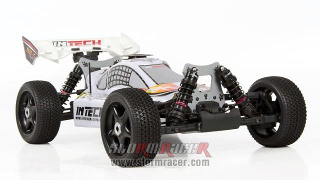 INTECH BR-5A28 Buggy 1/8 Nitro.28 (4.6cc) 006