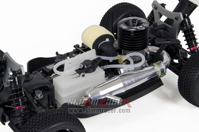INTECH BR-5A28 Buggy 1/8 Nitro.28 (4.6cc) 010