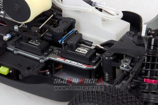 INTECH BR-5A28 Buggy 1/8 Nitro.28 (4.6cc) 013