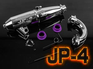 Pô Jammin JP-4 For 1/8 (Full Set) Chrome