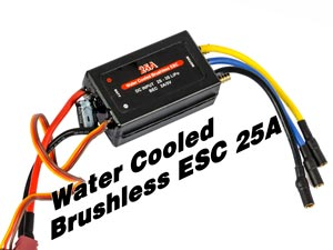 Joysway Brushless ESC Water Cooled 25A (3S)
