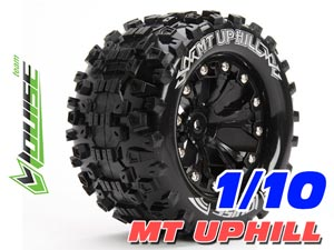 Louise 1/10 MT-UPHILL Monster Tires (Black) 2P