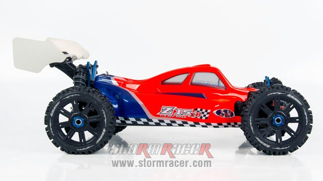 MZX-8 Buggy 1/8 EP + GT-2 007