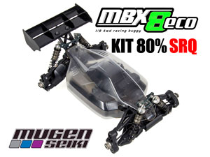MugenSeiki Buggy 1/8 MBX-8 ECO (Kit 80% SRQ)