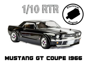 Mustang GT Coupe 1966 1/10 Electric (HSP 2,4G RTR)