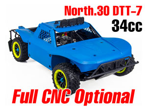 North 30 DTT-7S Gas 1/5 Truck 34cc Engine (4WD)