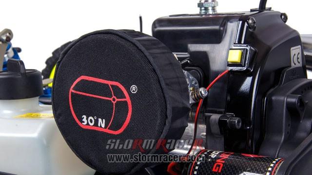 North.30 DTT-7 Gas Car 1/5 Zenoah G320RC (4WD) 022