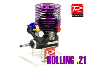 NovaRossi .21 Rolling (3.5cc) 7P Turbo Engine