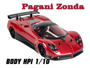 HPI 1/10 Body Pagani Zonda F (200mm) #17523