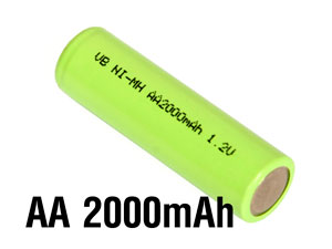 VB-Power Ni-MH AA Battery 2000mAh 1,2V