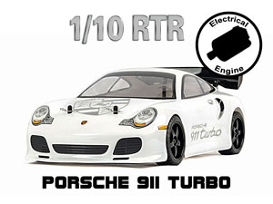 Porsche 911 Turbo 1/10 Electric (HSP 2,4G RTR)