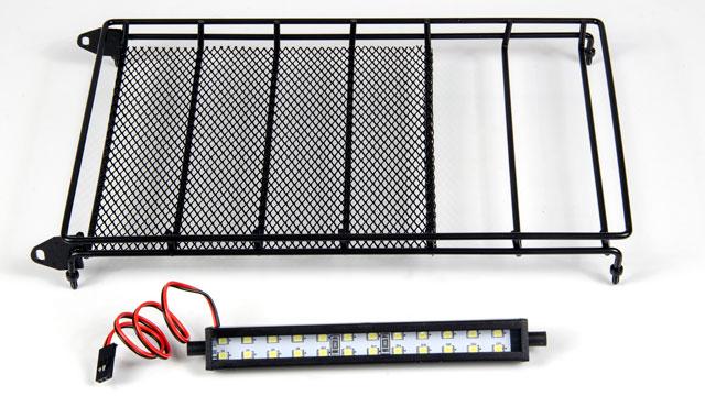 RGT Roof Rack & LED Lightbar #P860016 004