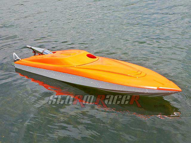 New SPORT SE-45 120cm boat Zenoah 29cc RTR