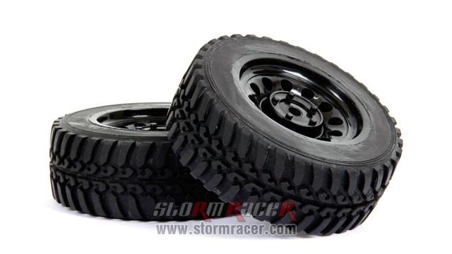 SST 1/10 Rally Tires Set (2P) 002