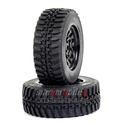 SST 1/10 Rally Tires Set (2P) 003