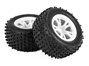 SST 1/10 Buggy Tires Set Cross-Pins (2P)