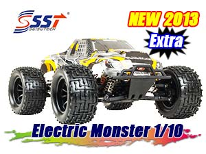 SST Electric Monster Truck Extra 1/10 RTR 2,4G