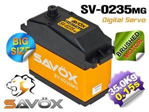 Savox Digital Servo 7,4V (BIG SIZE) #SV-0235MG