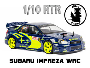 Subaru Impreza WRC 1/10 Nitro On Road (HSP 2,4G RTR)