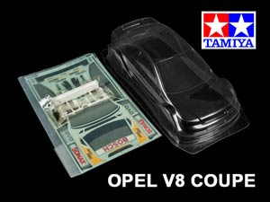 Tamiya 1/10 Body OPEL V8 Coupe #58263