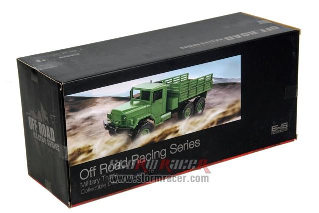 WPL-B1 Military Truck 1/16 RTR (6x6 Drive) 001