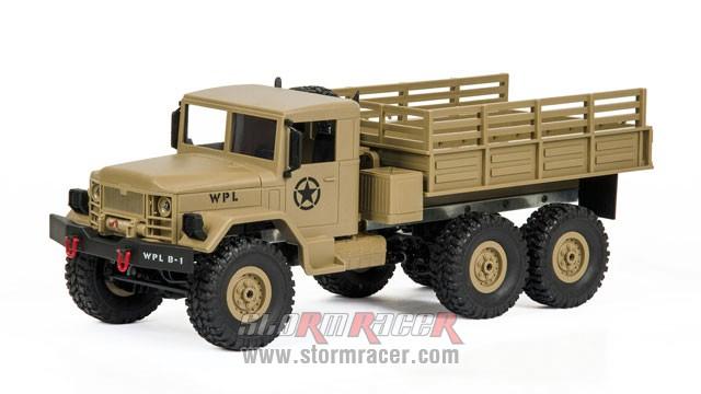 WPL-B1 Military Truck 1/16 006