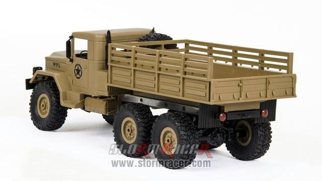 WPL-B1 Military Truck 1/16 008