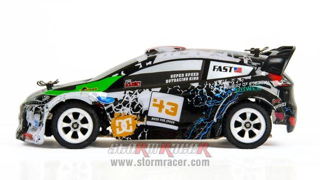 Nhóc RacingBoy 1/28 Rally 4WD 40km/h 011