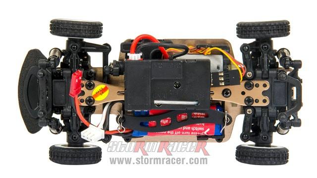 Nhóc RacingBoy 1/28 Rally 4WD 40km/h 017