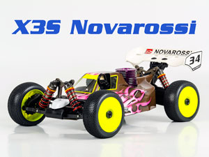 Racing 1/8 Buggy X3S - NOVAROSSI